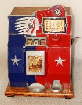 Mills QT Slot Machine Handle and Hub